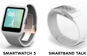 Smartwatch 3 si Smartband Talk