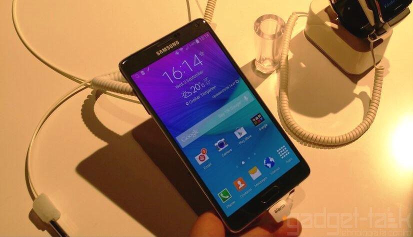 Samsung Galaxy Note 4 listat