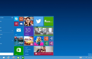 caracteristici windows 10