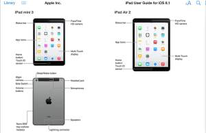 iPad Air 2 si ipad mini 3