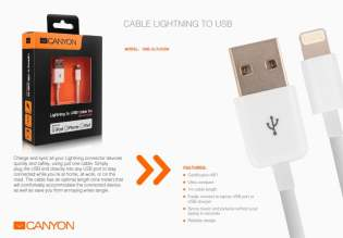 canyon accesorii de sarbatori cablu lightning