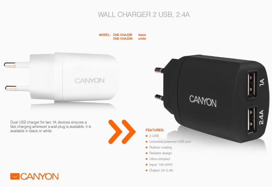 canyon accesorii de sarbatori incarcator de perete
