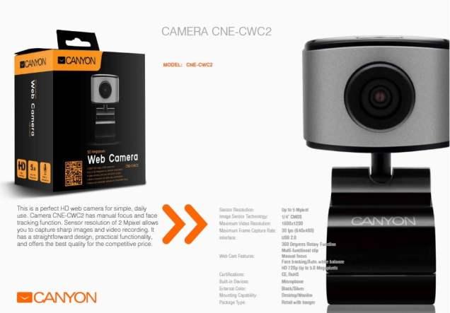 canyon accesorii de sarbatori web camera 1