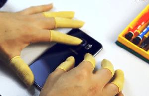Samsung Galaxy S6 greu de reparat