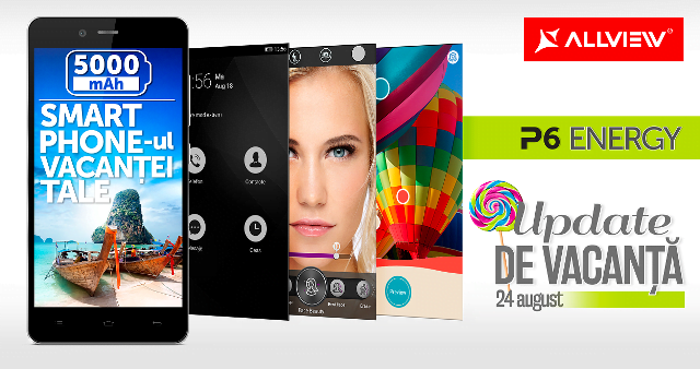 P6 Energy primeste actualizare Android 5.0 Lollipop