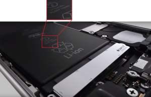 capacitatea bateriei iPhone 6S