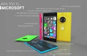 Microsoft Lumia 950XL.