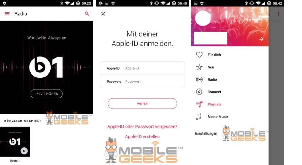 Apple Music pentru Android