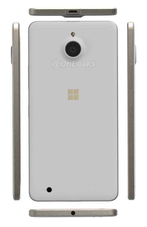 Lumia 850 Pearl Gold