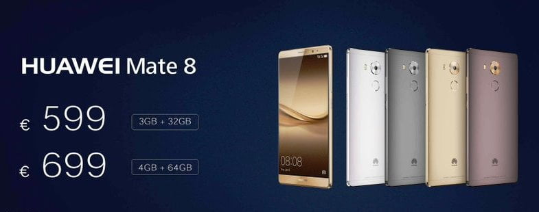 huawei mate 8 disponibil global