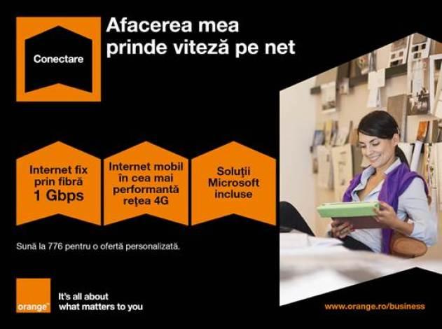 Orange lanseaza oferta dedicata companiilor mici