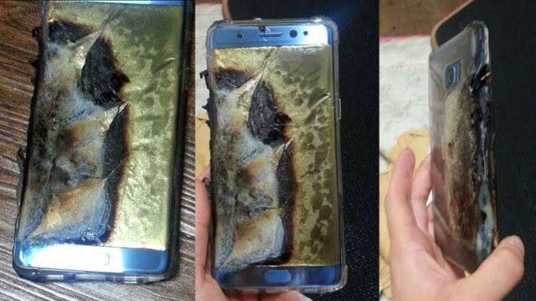 Galaxy Note 7 in pericol de explozie