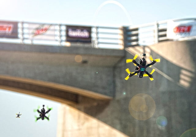 Eurosport va transmite curse cu drone