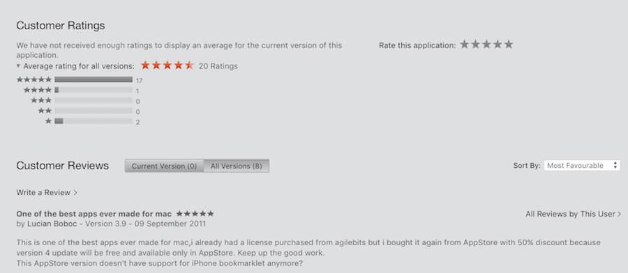 pot răspunde review-urilor