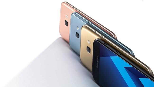 Pretul telefoanelor Galaxy A5 si Galaxy A3 2017