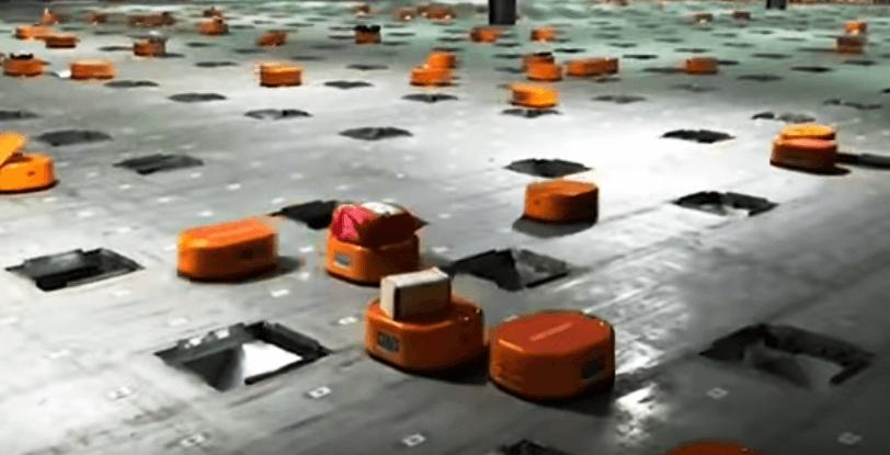 Cum sorteaza robotii coletele