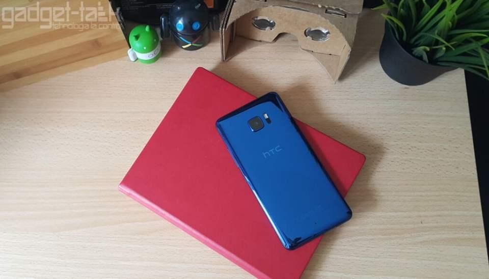 HTC U Ultra cu sticla de safir