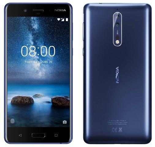 Telefonul Nokia 8