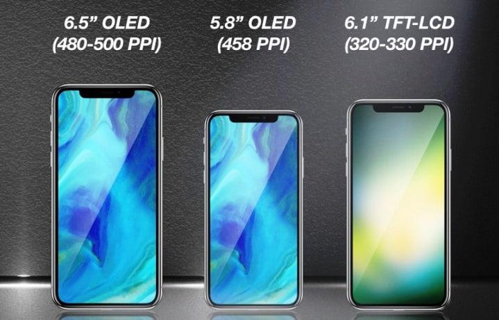 trei modele noi de iPhone X