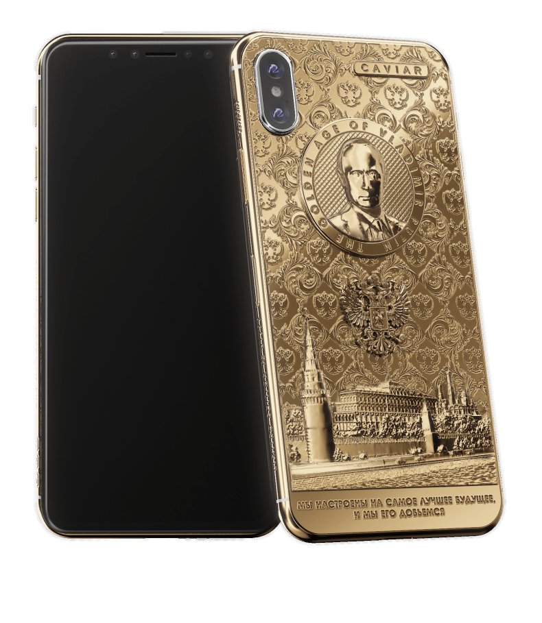Rusii lanseaza iPhone X Putin Golden Age