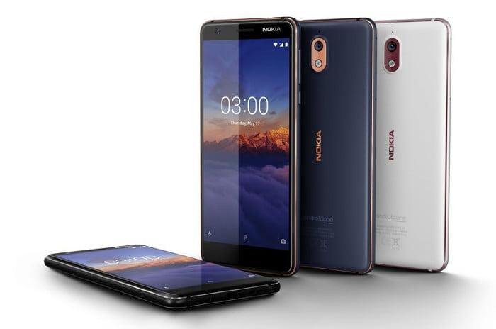 Telefonul Nokia 3.1
