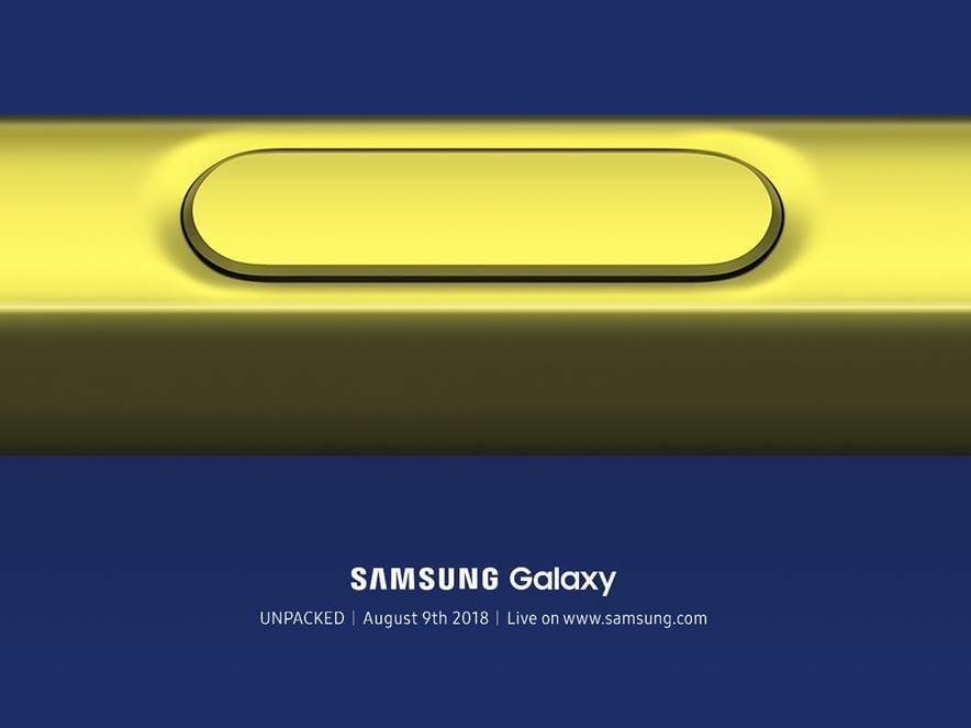 Samsung anunta evenimentul Galaxy Note 9