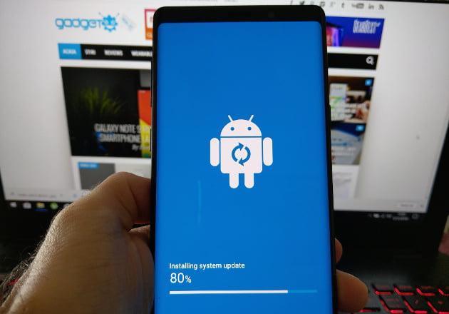 Galaxy Note 9 primeste actualizare