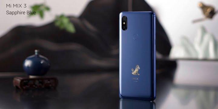 Xiaomi anunta Mi Mix 3