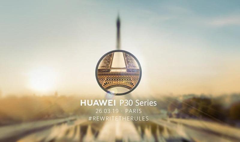 Evenimentul Huawei P30