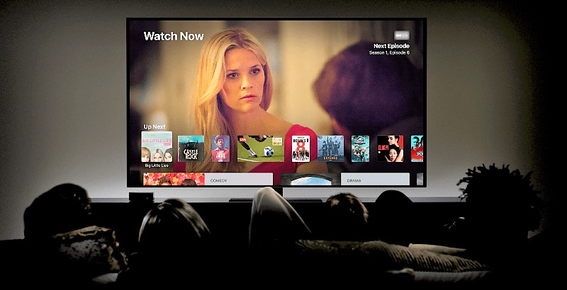Serviciul de streaming filme Apple
