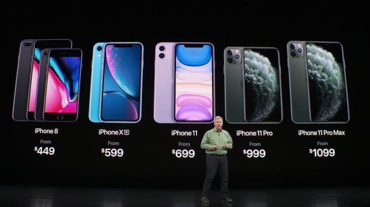 Pretul telefoanelor iPhone 11