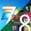 Windows7 ←謎の安心感  Windows8 ←謎の不信感