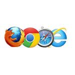 4月の世界のブラウザシェア Chrome:43.90% IE:29.17% safari:12.53% Firefox:6.83%