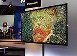 """【速報】 パナソニック、56型 """"4K"""" 有機ELテレビを公開。あまりの高画質に会場では絶賛の声"""