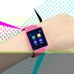 腕時計型でタッチでも操作可、USB充電で7時間稼働–4千円のメディアプレイヤー発売