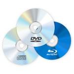 CDとかDVDとかブルーレィディスクってなんで丸いの?
