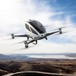 人を乗せて飛ぶことができるドローンが凄い!目的地を伝えると自動的に離着陸 ※中国製