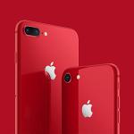 【朗報】赤いiPhone 8/8 Plus発表!!真っ赤な背面にフロントが黒ベゼルの神デザインwwwww