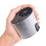 サンコー、小型USB扇風機「持たないUSB充電式扇風機 腰ベルトファン」を発表