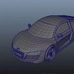 3DCGで車のモデリングしたったwwwwwwwwwwww