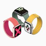 Apple「Apple Watch Series 5」を発表–ウォッチフェイスをつねに表示可能で18時間のバッテリ持続