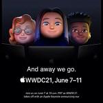 Appleが6月に開催するWWDC21のキーワードが「ナイフとフォーク」「寝顔」「ノートPC」らしい