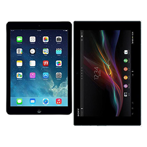 vergelijking-apple-ipad-air-vs-sony-xperia-tablet-z