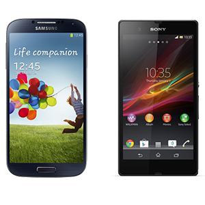 Samsung_Galaxy_S4_vs_Sony_Xperia_Z