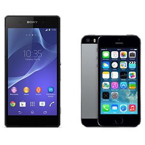 Sony_Xperia_Z2_vs_iPhone_5s