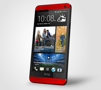 HTC-One-Red-right