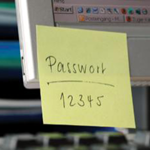 security-password-postit