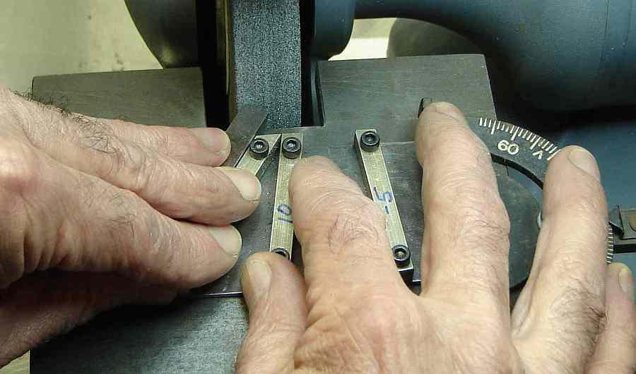 Lathe Tool Bit Grinding Jig