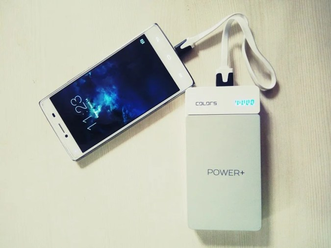 Power Plus Power Bank - Free with Colors Pearl Black K3