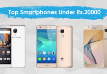 top best smartphones under Rs. 20,000